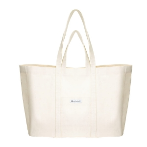 MAXI SHOPPER COTTON BAG NATURAL