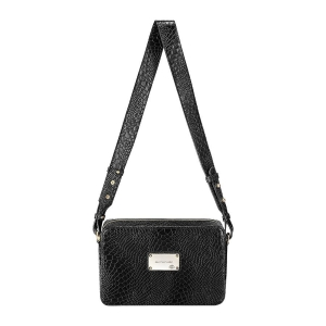 TOREBKA FAYE LARGE CROCO BLACK