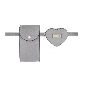 MIni torebki z paskiem MULTIBELT LIMITED GREY