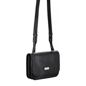 LORA CROCO BLACK
